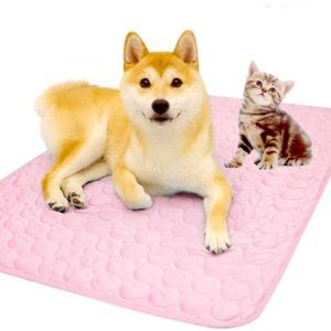 MICROCOSMOS Pet Chillz Cooling Mat, Pink Large
